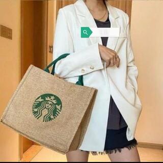 Starbucks Coffee - スターバックス スタバ トートバッグ ジュート エコバッグ