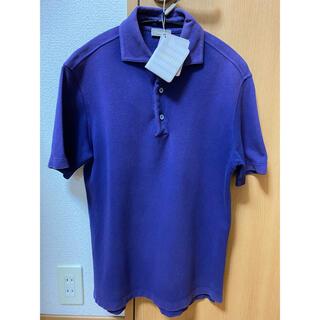 クルチアーニ(Cruciani)のCruciani  クルチアーニ ポロシャツ パープル サイズ44(ポロシャツ)