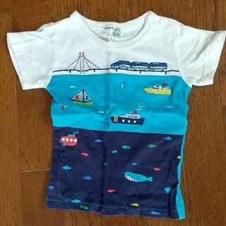 motherways - 【motherways】切り替えデザインTシャツ