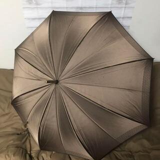 FENDI - フェンディ 傘 雨傘 長傘 ズッカ柄 ブラウン ヴィンテージ アンブレラ