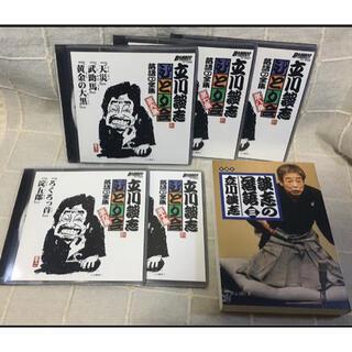 落語CD  立川談志 ひとり会 5枚   +  談志の落語(三) 文庫本(演芸/落語)