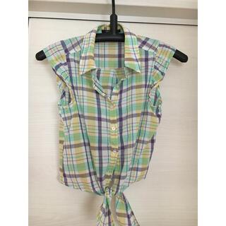 ワンウェイ(one*way)のノースリーブシャツ(シャツ/ブラウス(半袖/袖なし))