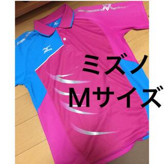 MIZUNO - MIZUNO ミズノ テニス バドミントン ウェア ゲームシャツ ユニフォーム