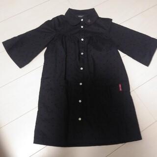 COMME CA ISM - 子供服 女の子 120ワンピース フォーマル 黒