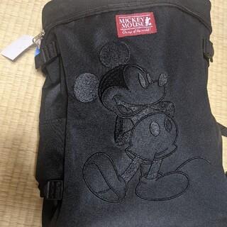 Disney - バックパック ミッキーマウス 黒 新品