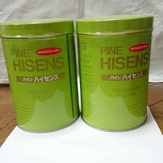 パインハイセンス2缶入浴剤