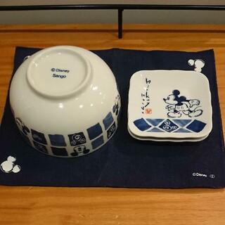Disney - ディズニー 食器 丼鉢 キッチンマット