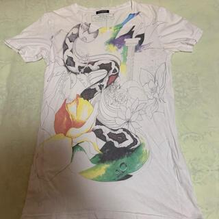 バルマン(BALMAIN)のBALMAIN バルマン  スネーク プリント Tシャツ(Tシャツ/カットソー(半袖/袖なし))