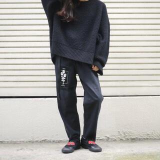 ジエダ(Jieda)のLee × JieDa DENIM PANTS BLACK 30inch(デニム/ジーンズ)