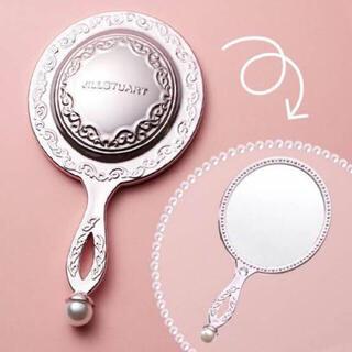 JILL by JILLSTUART - 未使用 ジルスチュアート ハンドミラー 手鏡 ピンク パール 鏡 可愛い