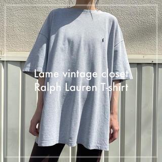 POLO RALPH LAUREN - 90s 古着 ラルフローレン ポニー刺繍 Tシャツ ワンポイント ビンテージ