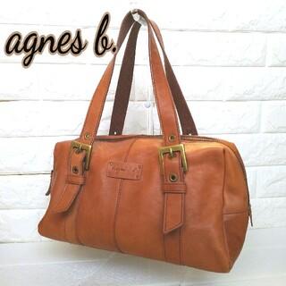 agnes b. - アニエスベーボヤージュ ハンドバッグ 美品 ブラウン 持ち手調整