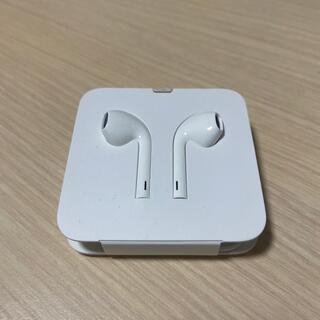 アップル(Apple)のApple iPhone 純正 イヤホン 新品 未使用(ヘッドフォン/イヤフォン)