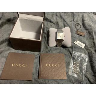 グッチ(Gucci)のGUCCI 腕時計 138.4 シルバー メンズ(腕時計(アナログ))