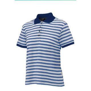 オンヨネ(ONYONE)のポロシャツ メンズ レディース 男女兼用 トップス ボーダー 青 Tシャツ 夏(ポロシャツ)