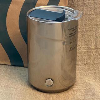Starbucks Coffee - スターバックス デスクトップタンブラー シルバー 海外限定 レア 日本未発