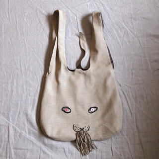 mina perhonen - 11日までお取り置き ミナペルホネン パンチング レザー usa bag