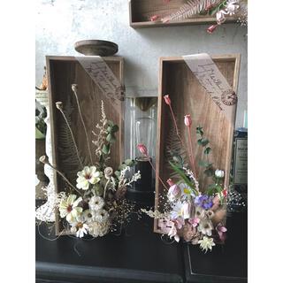 咲きこぼれるSpring flowers/ミルキーイエローMサイズ*母の日に…♡(ドライフラワー)