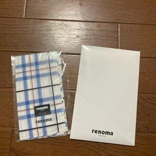 レノマ(RENOMA)の新品 レノマ ハンカチ (ハンカチ/ポケットチーフ)