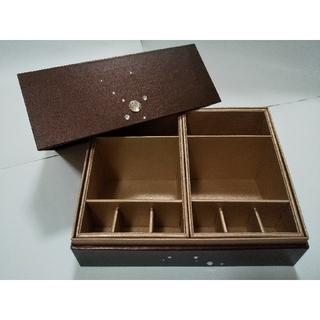 エスト(est)の【送料無料】未使用!est エスト メイクボックス コスメケース 収納 化粧箱 (メイクボックス)