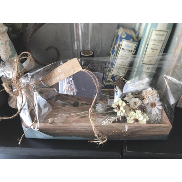 咲きこぼれるSpring flowers/ピーチピンクMサイズ*母の日に…♡ ハンドメイドのフラワー/ガーデン(ドライフラワー)の商品写真