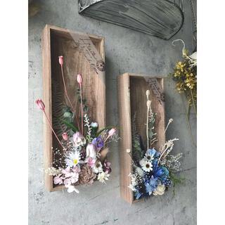咲きこぼれるSpring flowers/ピーチピンクMサイズ*母の日に…♡(ドライフラワー)