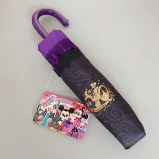 ディズニー(Disney)の☆かお☆様専用 香港 ディズニー 折りたたみ傘 ミッキー ミニー シェリーメイ (傘)