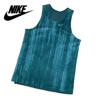 NIKE - 新品 Mサイズ ナイキ タンクトップ リバーシブル バスケットボール グリーン