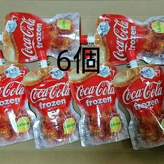 コカコーラ(コカ・コーラ)のコカ・コーラ  フローズンレモン  125g×6個(ソフトドリンク)