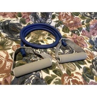 美品 アルインコ WBN115 エクササイズチューブ ハード 筋トレ(トレーニング用品)