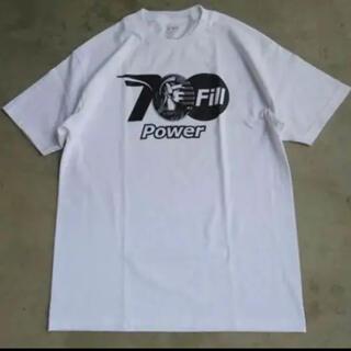 ワンエルディーケーセレクト(1LDK SELECT)の【美品】700fill Tシャツ 白 L (Tシャツ/カットソー(半袖/袖なし))