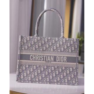 Dior - 新品Dior Book Tote (ディオール ブック トート) S グレー