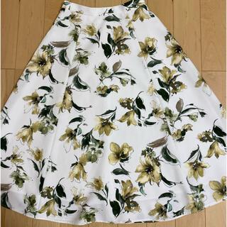 JUSGLITTY - ★JUSGLITTY★水彩フラワープリントスカート