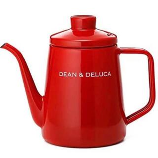 DEAN & DELUCA - 希少新品完売品★DEAN&DELUCAレッド赤ホーローケトルディーン&デルーカ