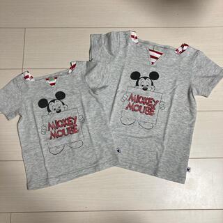 Disney - ◉お揃いTシャツ 100.130  ディズニー Disney