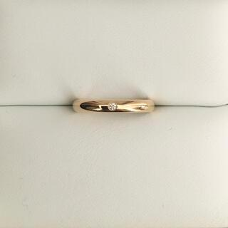 Cartier - カルティエ 1895 ダイヤモンド リング K18YG 2.5mm 証明書付き