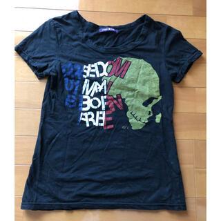 アフリカタロウ(AFRICATARO)のAFRICATARO ドクロ Tシャツ トップス(Tシャツ(半袖/袖なし))