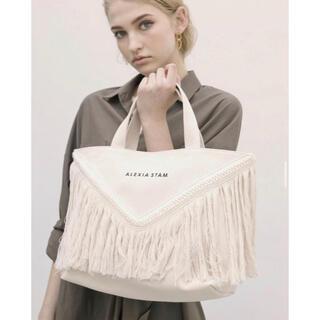 ALEXIA STAM - アリシアスタン V Long Fringe Medium Tote Bag