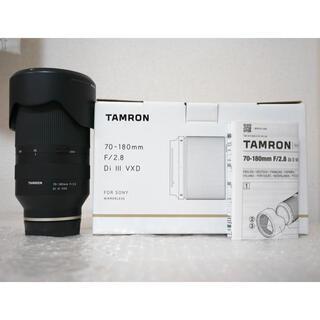 TAMRON - Tamron 70-180mm F2.8 SONY Eマウント用レンズ