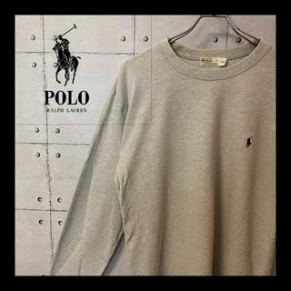 POLO RALPH LAUREN - 美品 ★ ラルフローレン  ワンポイント ロゴ 刺繍 スウェット トレーナー