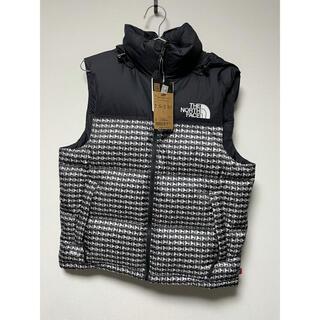 シュプリーム(Supreme)のSupreme North Face Studded Nuptse vest S(ダウンベスト)