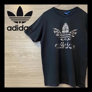 adidas - 希少 ★ adidas アディダス Tシャツ 迷彩 カモフラージュ 総柄
