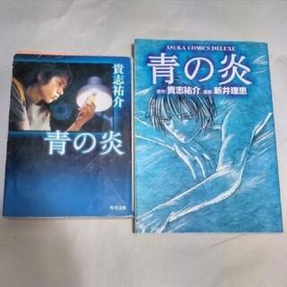 アラシ(嵐)の青の炎 小説・マンガ版セット(文学/小説)