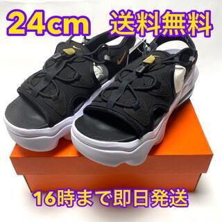 NIKE - ナイキ エアマックスココサンダル 24cm koko 黒/白 ③