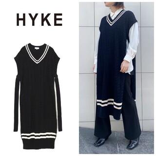 HYKE - ハイク hyke ハイク チルデンセーター ワンピース