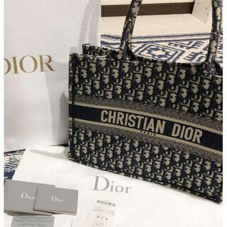Christian Dior - DIOR ブックトート オブリーク スモール バッグ  BOOK TOTE
