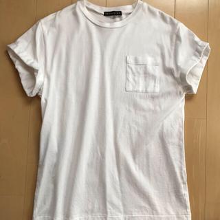 ESTNATION - エストネーション Tシャツ 白 S 日本製