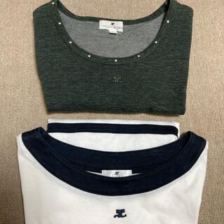 クレージュ(Courreges)の【希少5号‼︎】クレージュ courrege 5号size 半袖 Tシャツ(Tシャツ(半袖/袖なし))