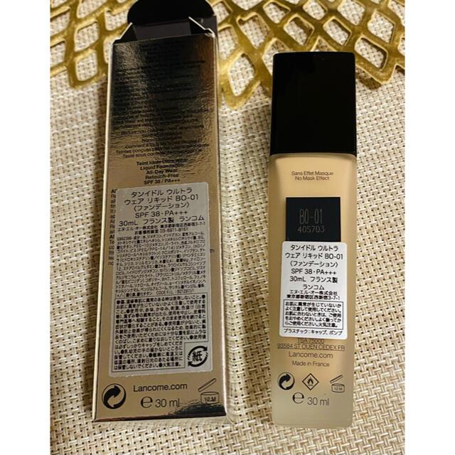LANCOME(ランコム)の【未使用】ランコム タンイドル ウルトラ ウェア リキッドB0-01 コスメ/美容のベースメイク/化粧品(ファンデーション)の商品写真