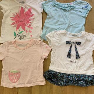 オシュコシュ(OshKosh)の80センチ  Tシャツ トップス まとめ売り 4枚セット(Tシャツ)